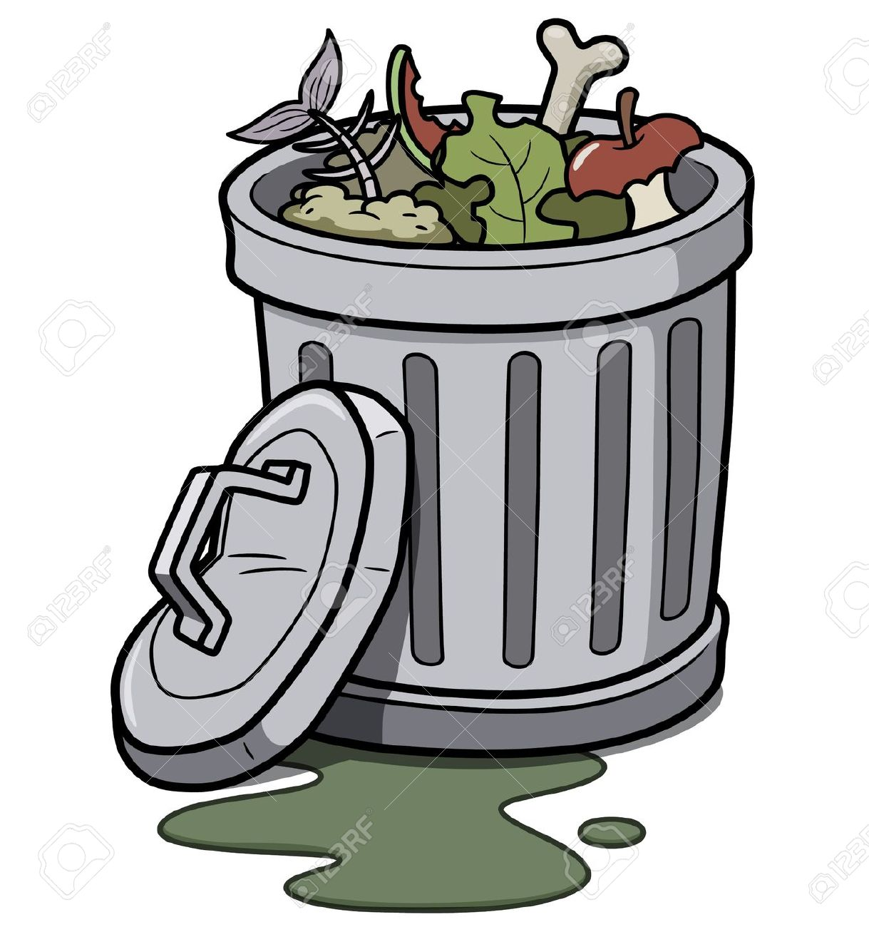 graphic freeuse library Pictures of trash free. Trashcan clipart garbage pickup