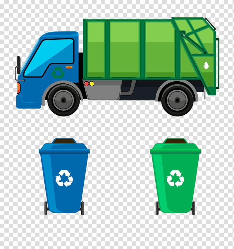 clip library download Truck waste collection management. Trashcan clipart garbage pickup