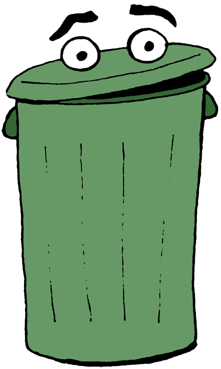 png freeuse library  collection of can. Trashcan clipart garbage pickup