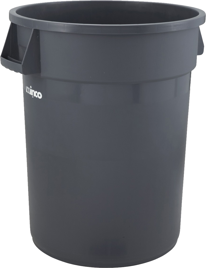 clip freeuse library Trash can png image. Trashcan clipart grey