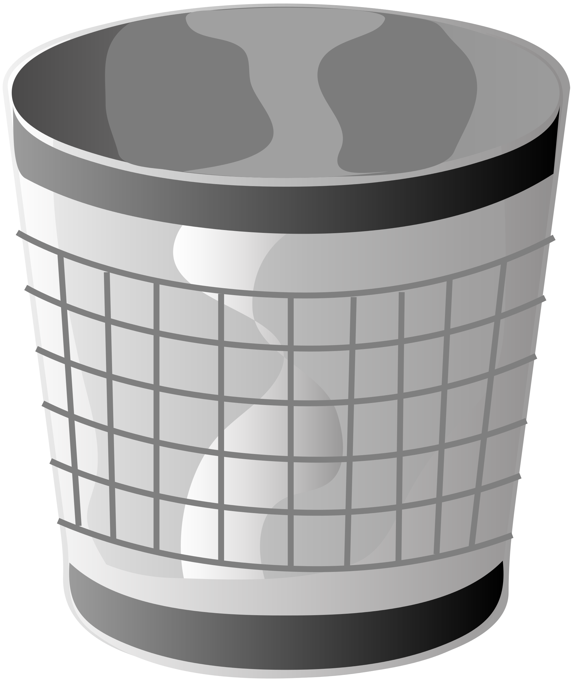 graphic black and white stock File svg wikimedia commons. Trashcan clipart grey