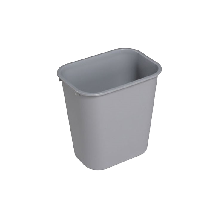 banner royalty free library Trashcan clipart grey. Waste container plastic gray