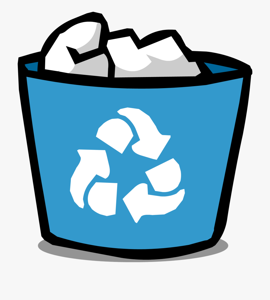 image transparent library Trashcan clipart recycling box. Recycle bin picture png