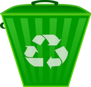clip art free download Trashcan clipart recycling box. Recycle trash can clip.