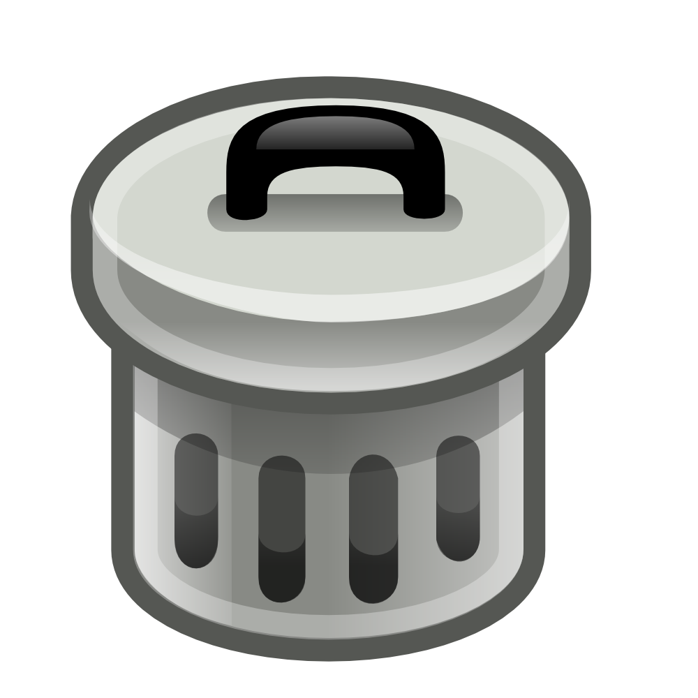 svg stock Trashcan clipart waste product. Onlinelabels clip art trash