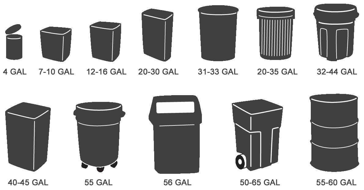 banner library download trashcan transparent 33 gallon #117625507