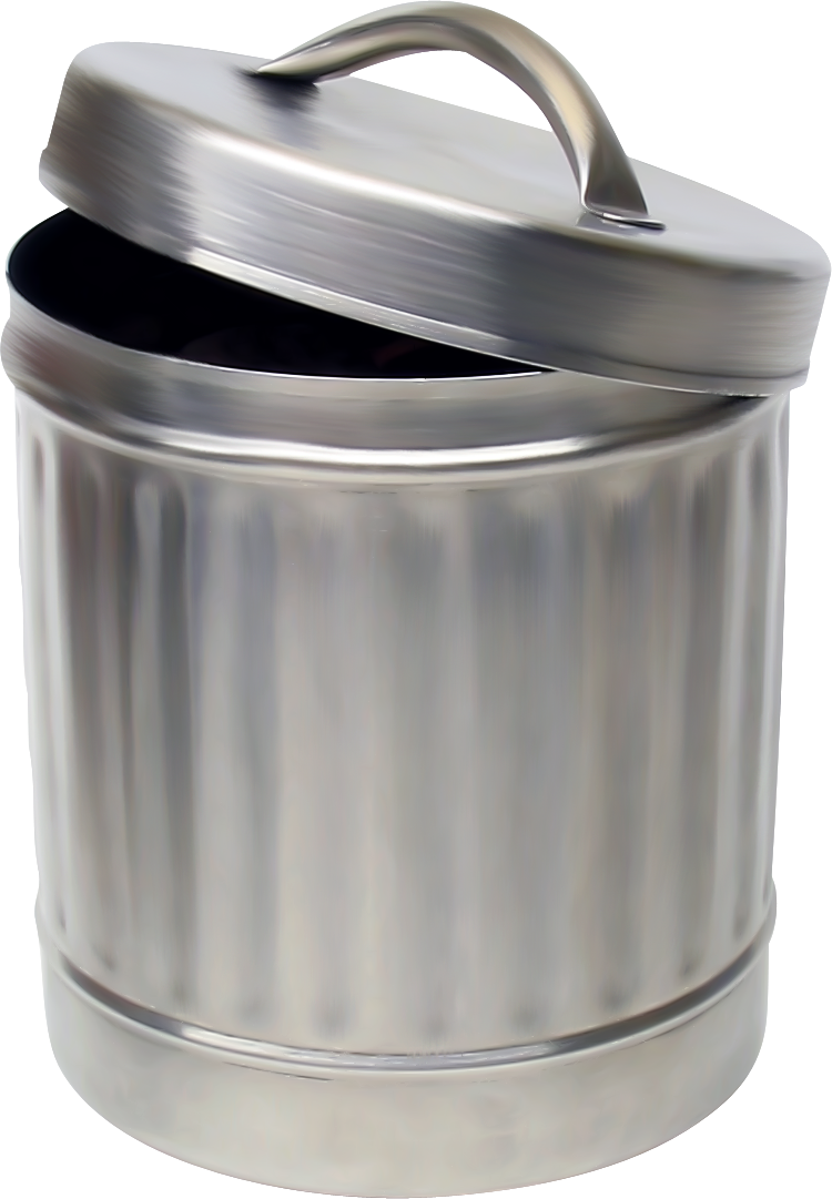 clip free download Trash Can PNG Image