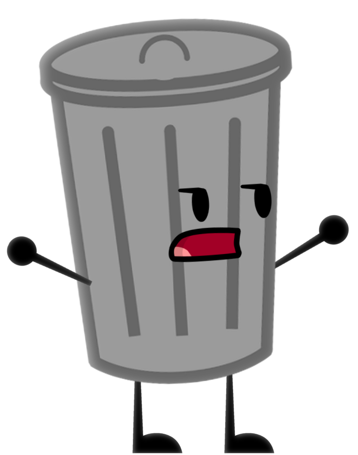 graphic freeuse Trashcan clipart animated. Image trash can png.