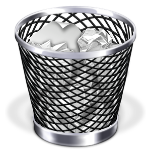 stock Cannot empty Trash on a Mac