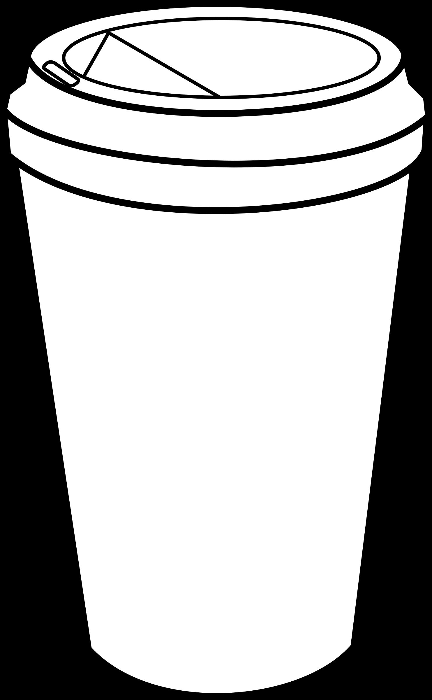 vector freeuse stock Clipart cafe big image. Vector coffee travel mug