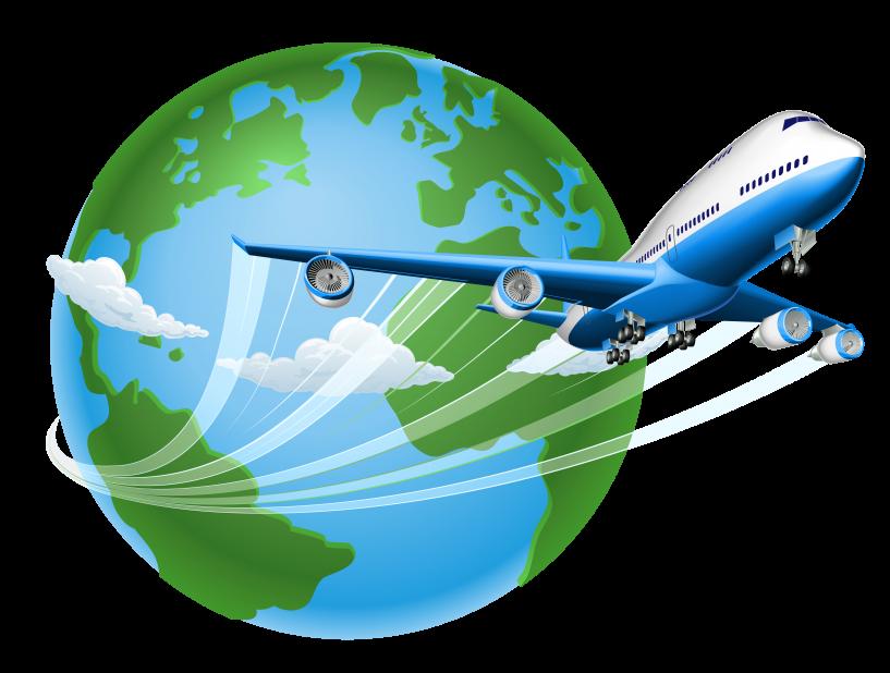 royalty free Jokingart com . Luggage clipart world travel.