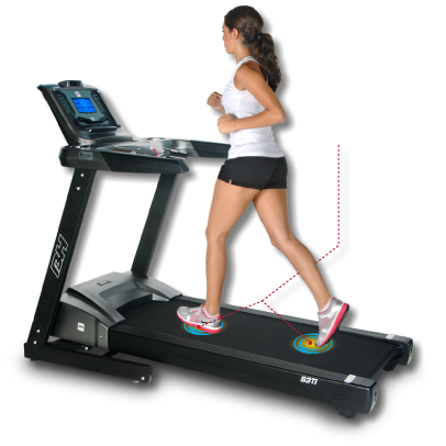 graphic black and white stock Different exercise free on. Treadmill clipart