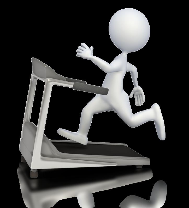 clip art free treadmill clipart animated #85118036