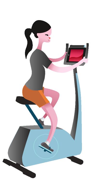 clip free Treadmill clipart cardio equipment