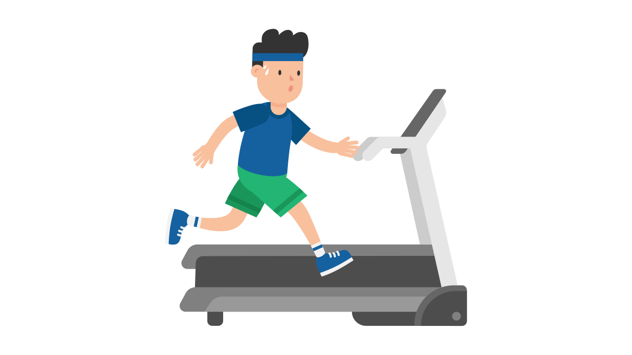 banner royalty free download treadmill clipart exercise #85117977