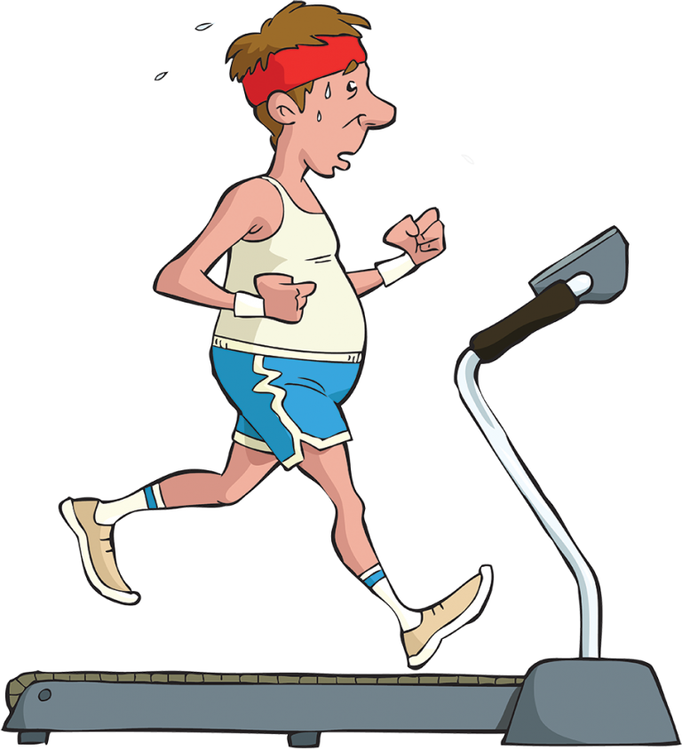 image black and white download treadmill clipart exersice #85226287