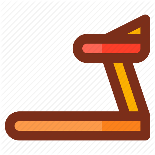 clip library stock Iconfinder and filled line. Treadmill clipart health fitness
