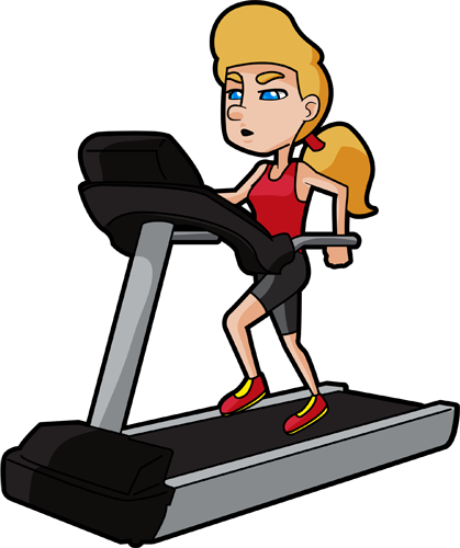 png transparent download Treadmill clipart health fitness. Mental blog exercise for