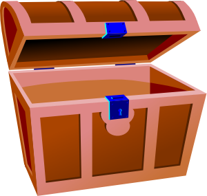 graphic transparent download Treasure clipart. Chest clip art at