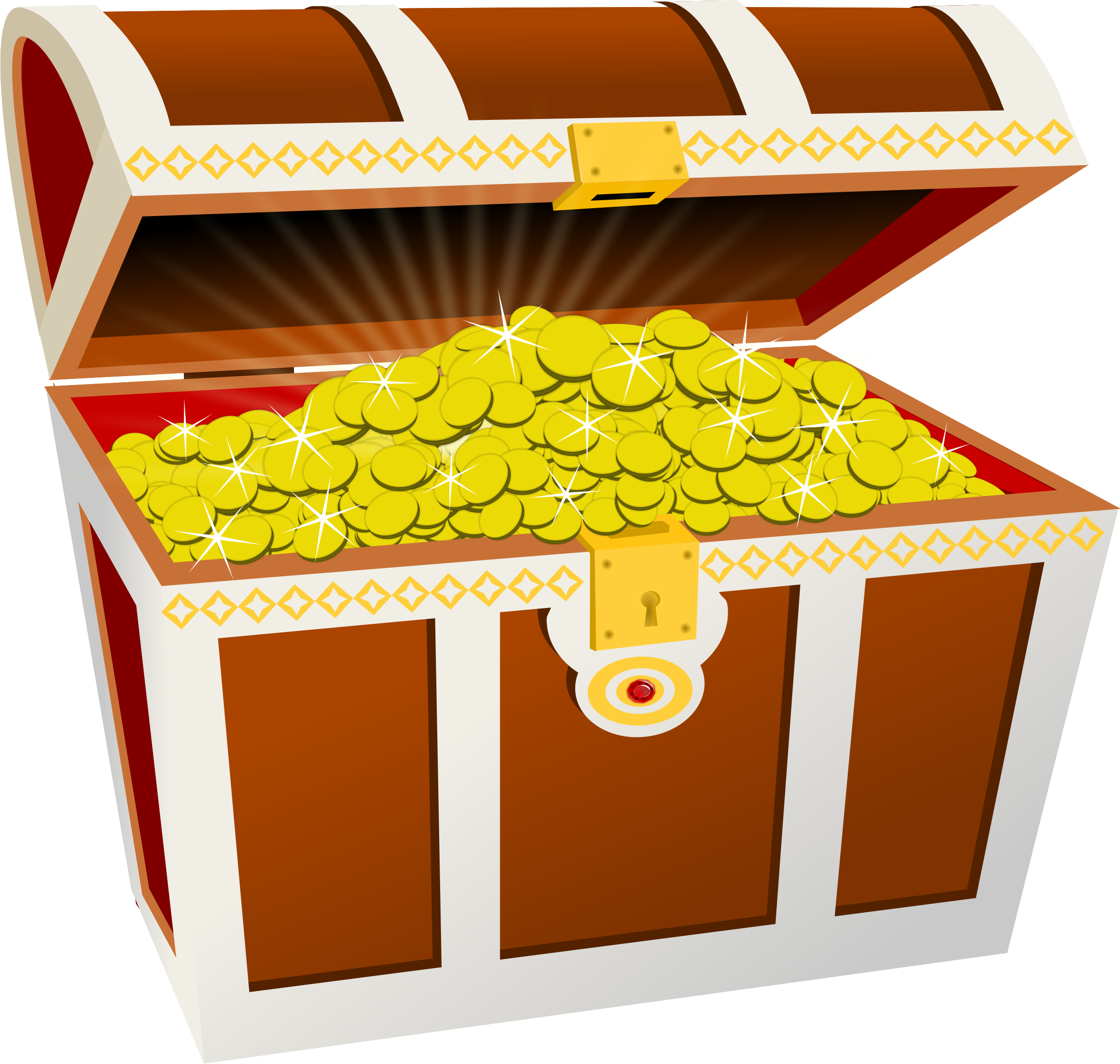 picture royalty free Treasure clipart. Chest big image png