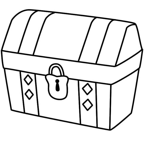 banner freeuse download Treasure drawing. A simple of locked