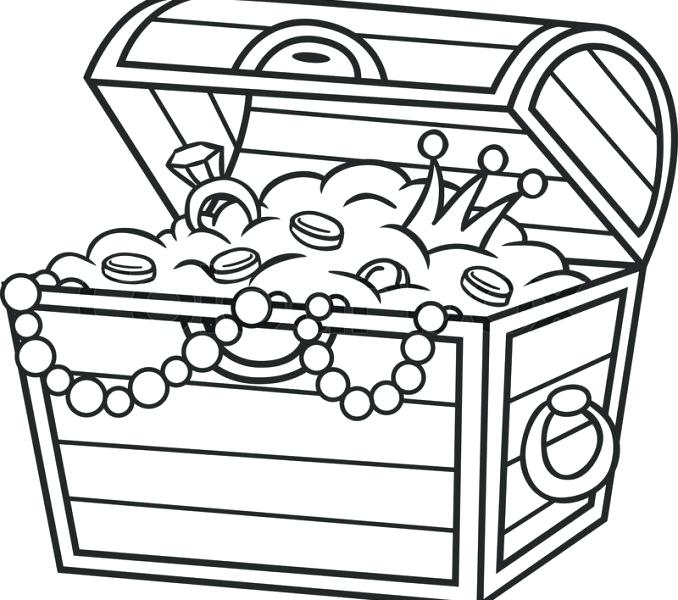 clip library Treasure drawing. Box at paintingvalley com
