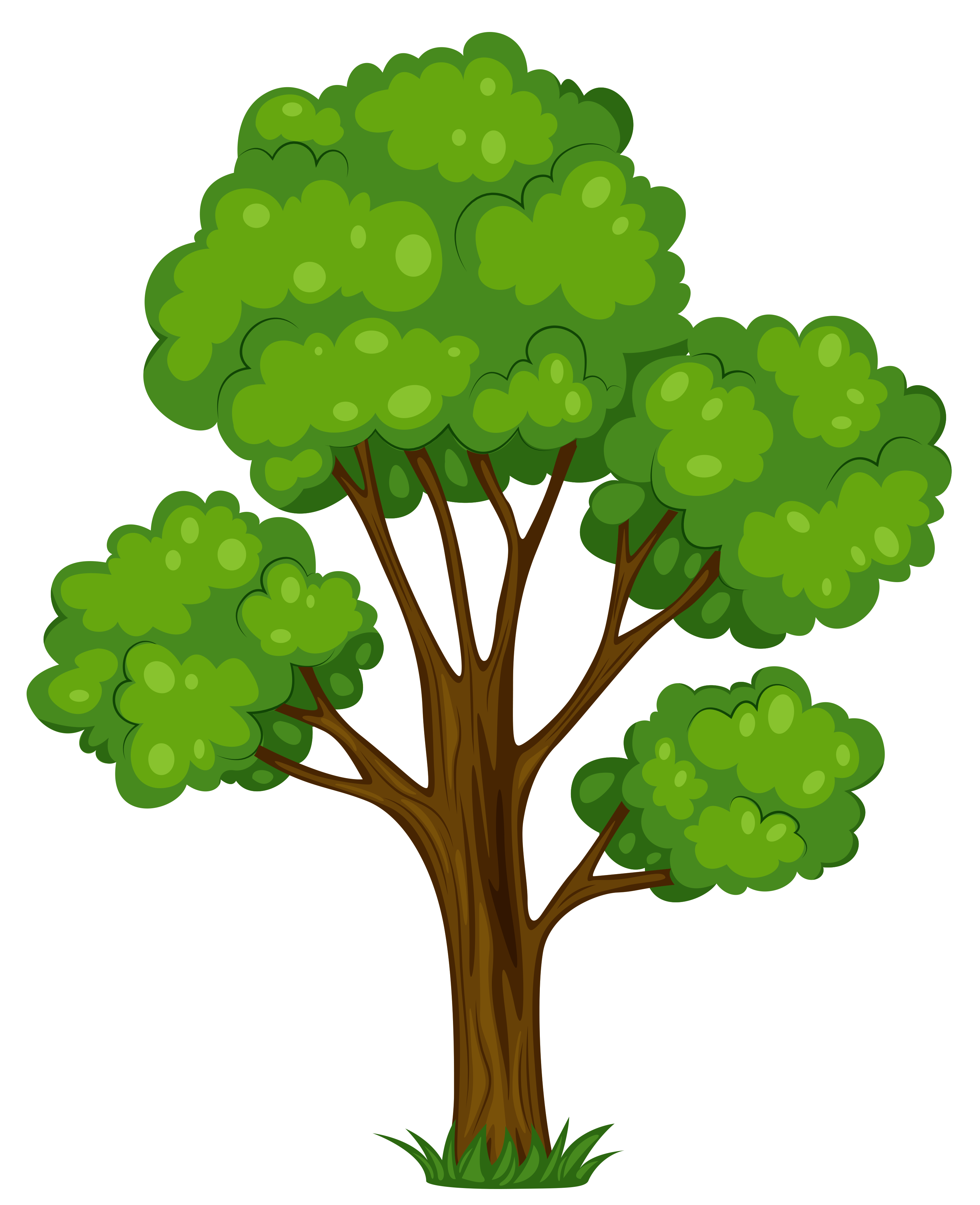 vector free download Group hd . Tree clipart.