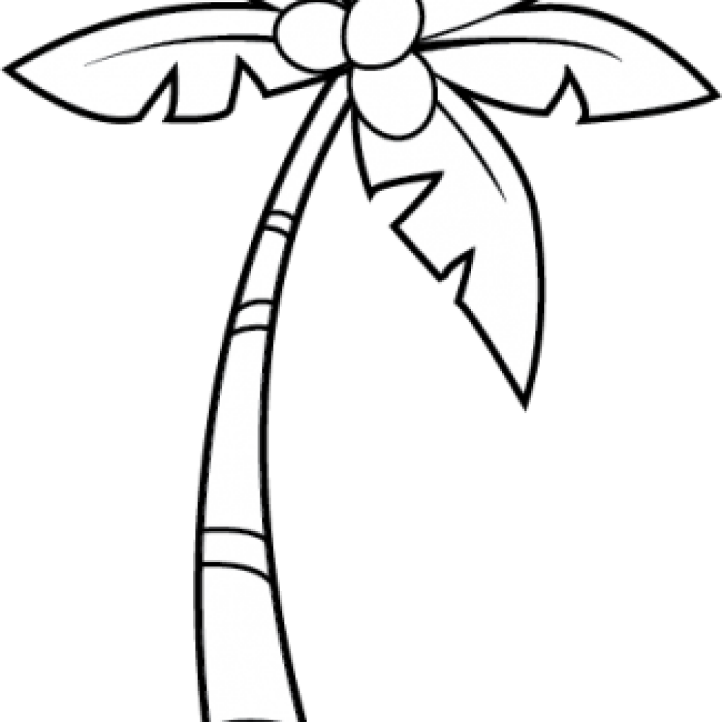 banner black and white library Tree hatenylo com nice. Palm trees clipart black and white