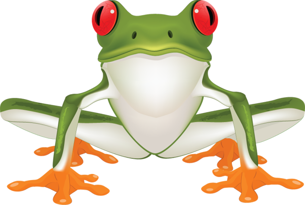 clipart royalty free stock Brown Tree Frog Clipart