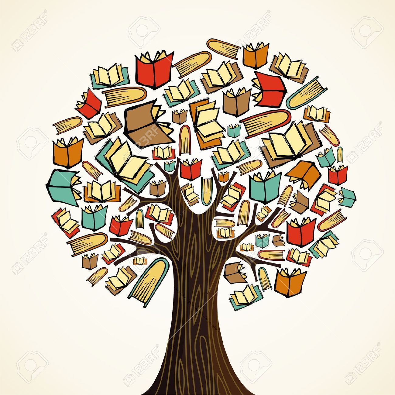 image transparent library Tree of knowledge clipart. Portal