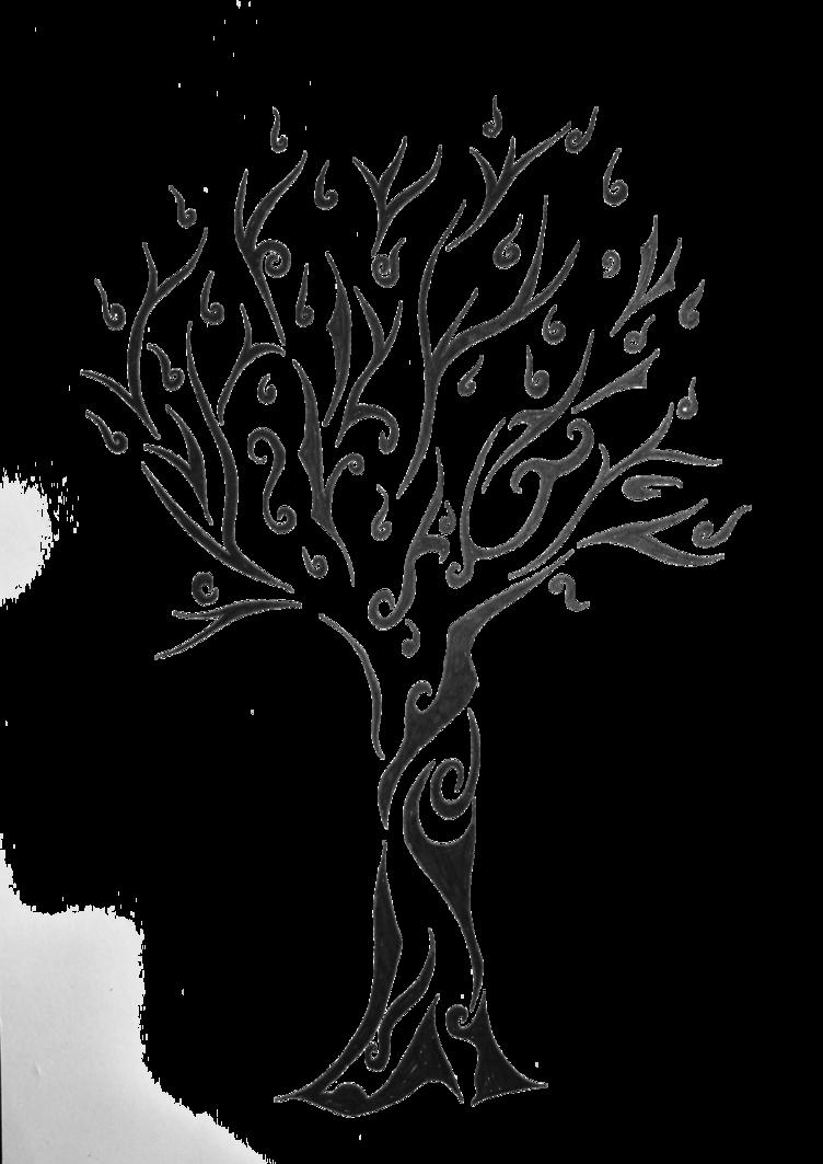 clip library library bonsai drawing tribal #90435999