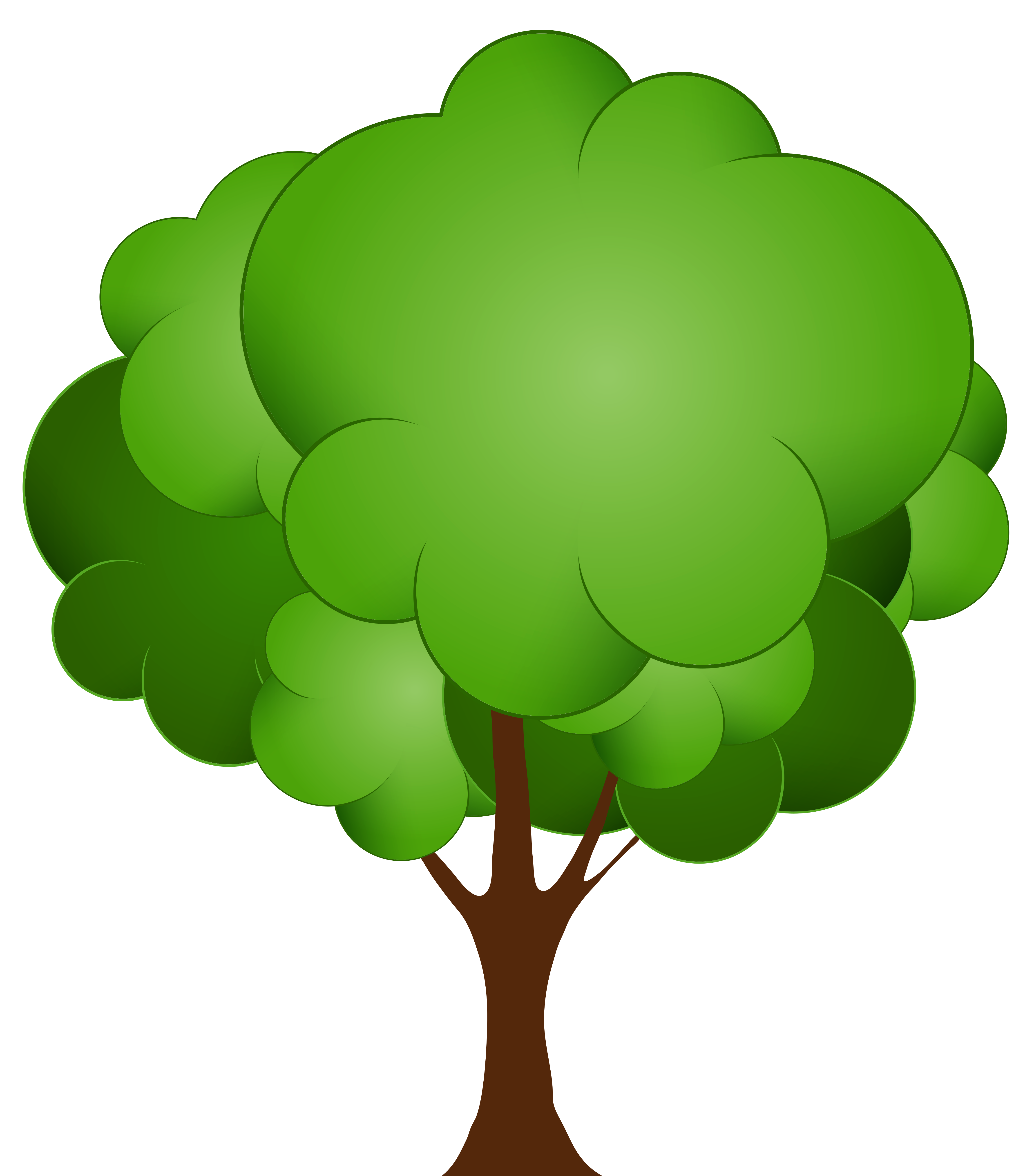 vector transparent download Green tree png clip. Trees clipart