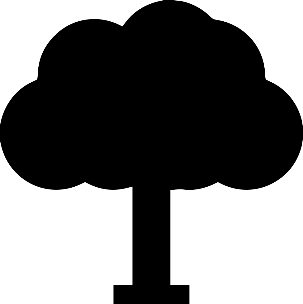 png transparent library Tree png icon free. Trees svg middle