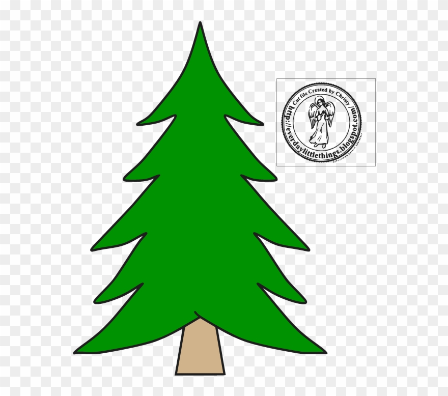 jpg royalty free library Free christmas files disney. Trees svg middle