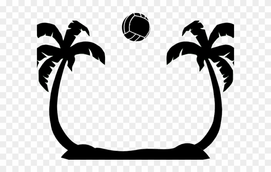 svg Trees svg middle. Palm tree cut file