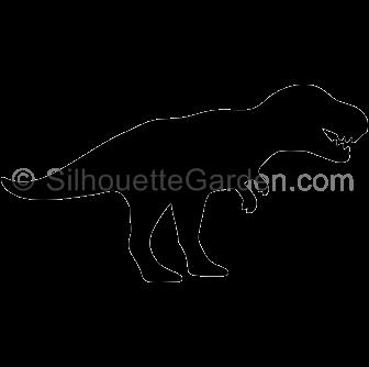 image transparent download T Rex silhouette clip art