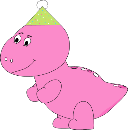 graphic freeuse library Trex clipart pink. Dinosaur clip art images