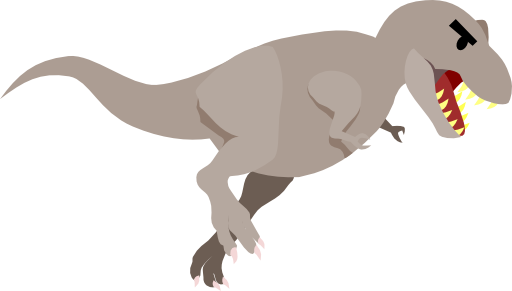svg library stock T Rex Clipart