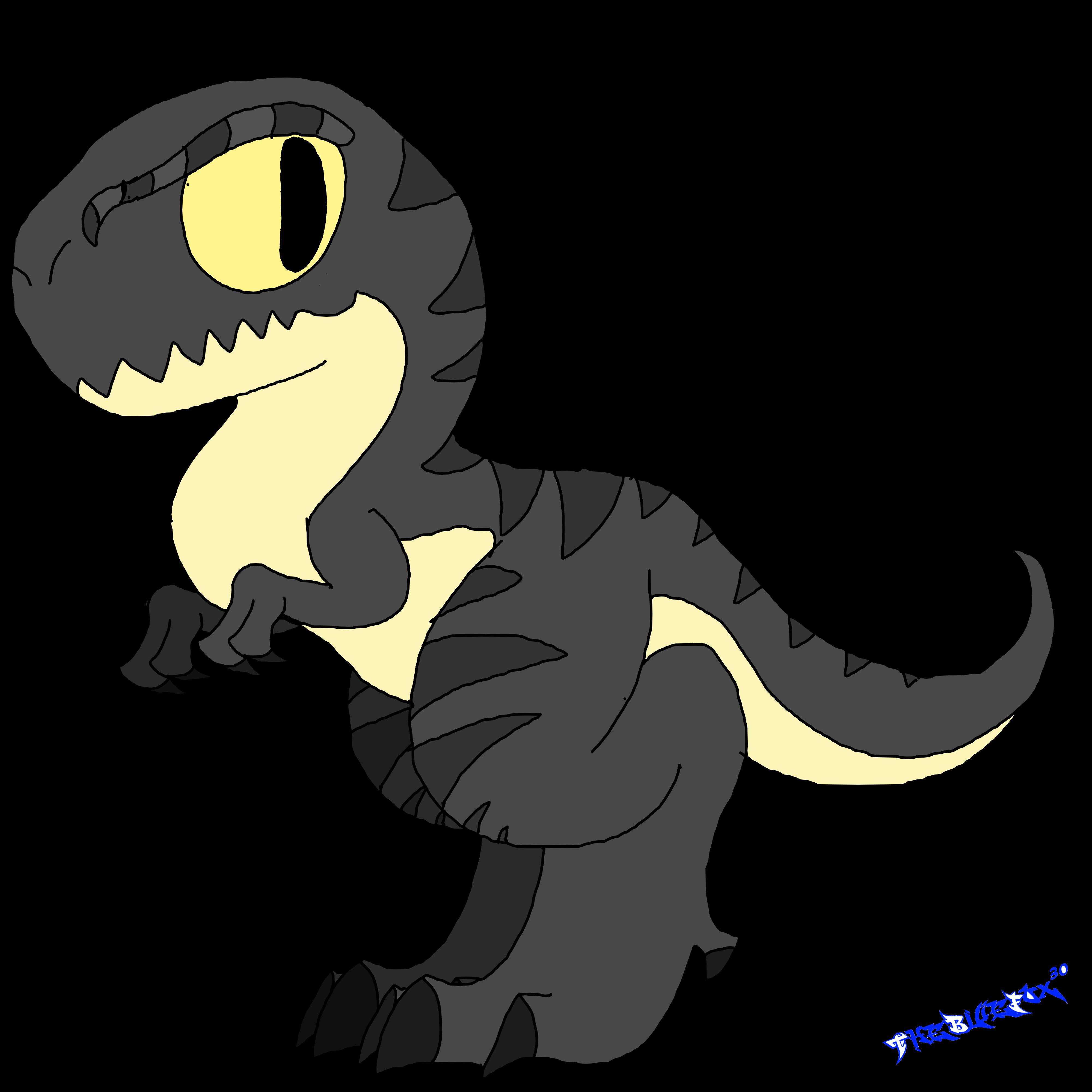 jpg transparent library Tyrannosaurus Velociraptor Dinosaur Drawing Clip art