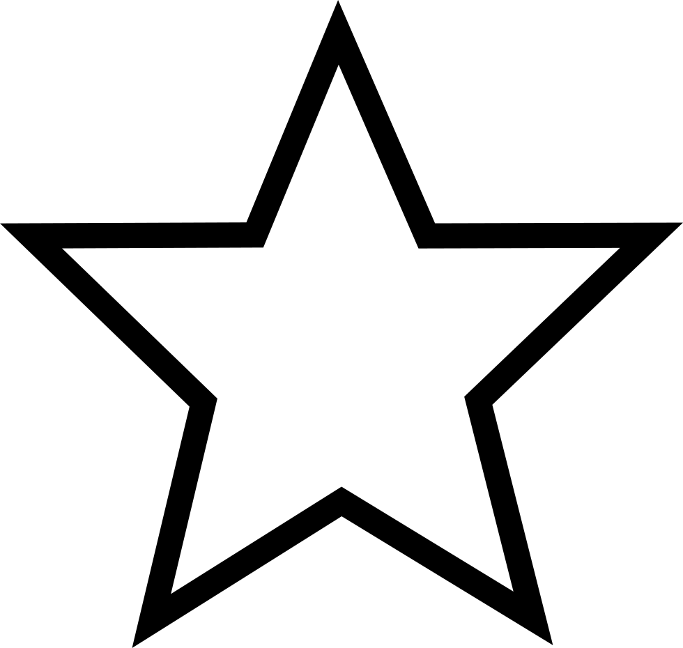 png black and white drawing star line #95643087