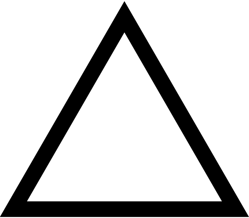 image stock Clip art panda free. Triangle black and white clipart