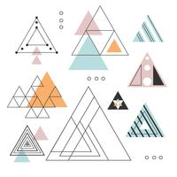 vector download Triangles vector. Triangle free art downloads