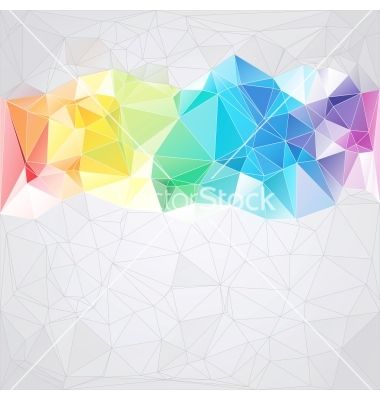png black and white library Triangles vector. Triangular style abstract background