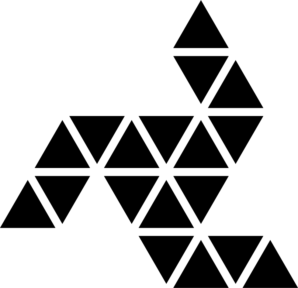 png transparent stock Ornamental Rotating Polygonal Shape With Three Lines Around An