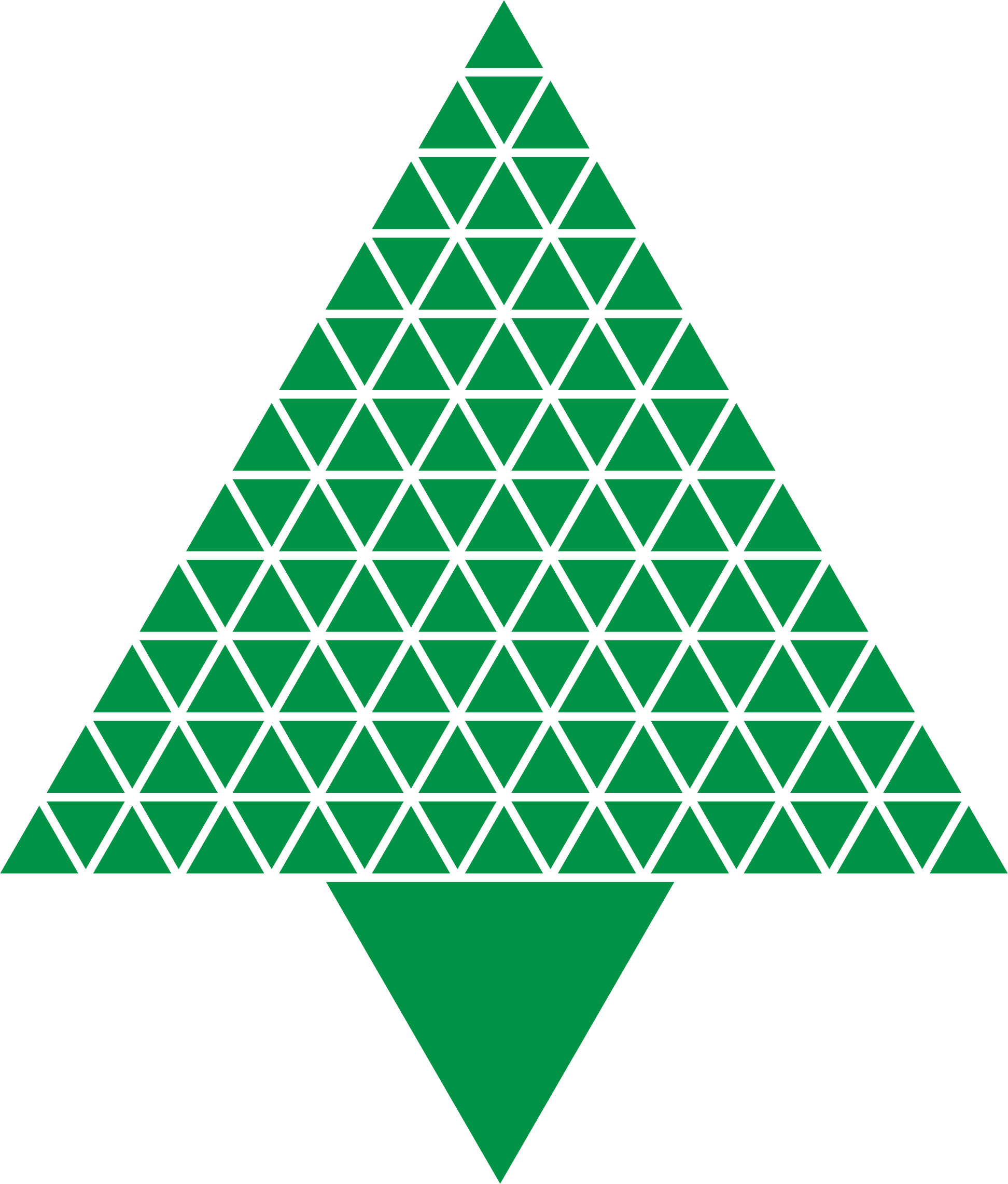 clip freeuse download Triangular clipart. Abstract christmas tree green