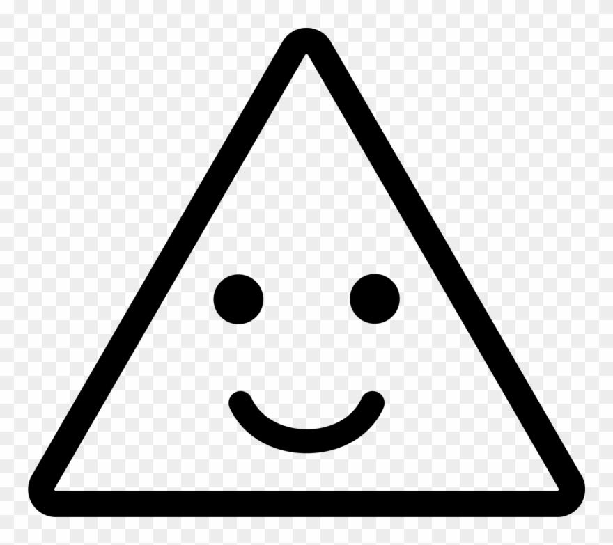 clipart library library Triangle png download . Triangular clipart face clipart