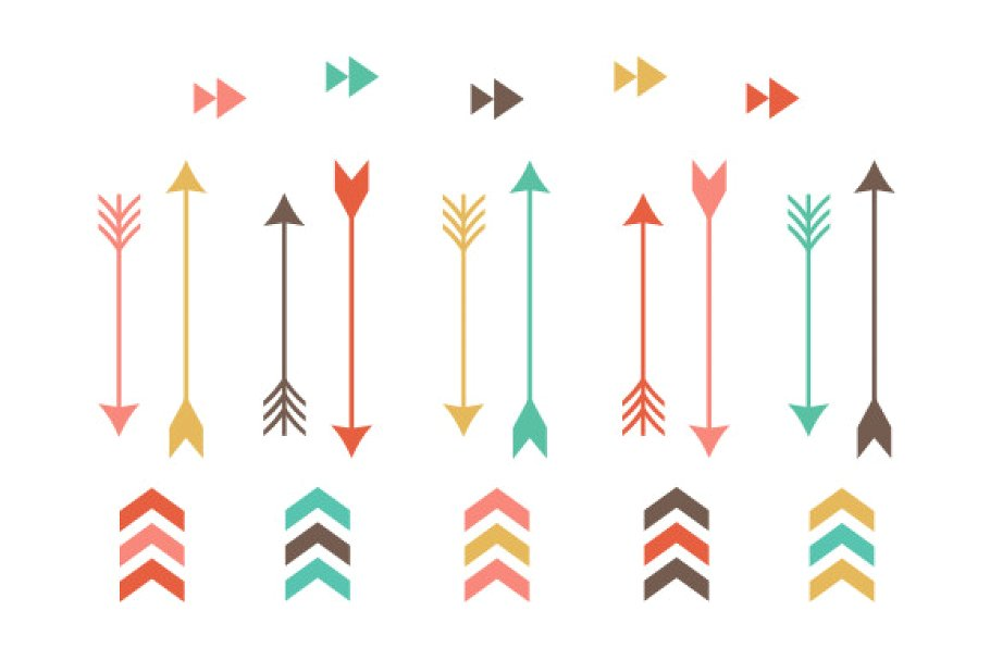 vector black and white download Tribal arrow clipart. Clip art .