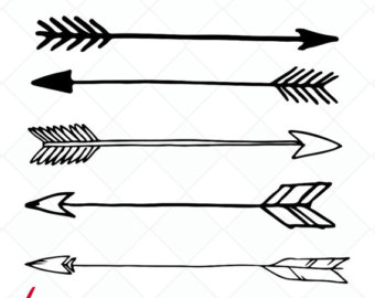 clipart stock Tribal arrow clipart black and white. Free download best
