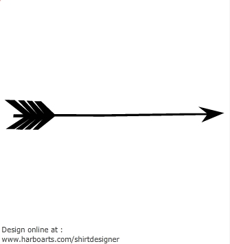 clip black and white library . Tribal arrow clipart black and white single