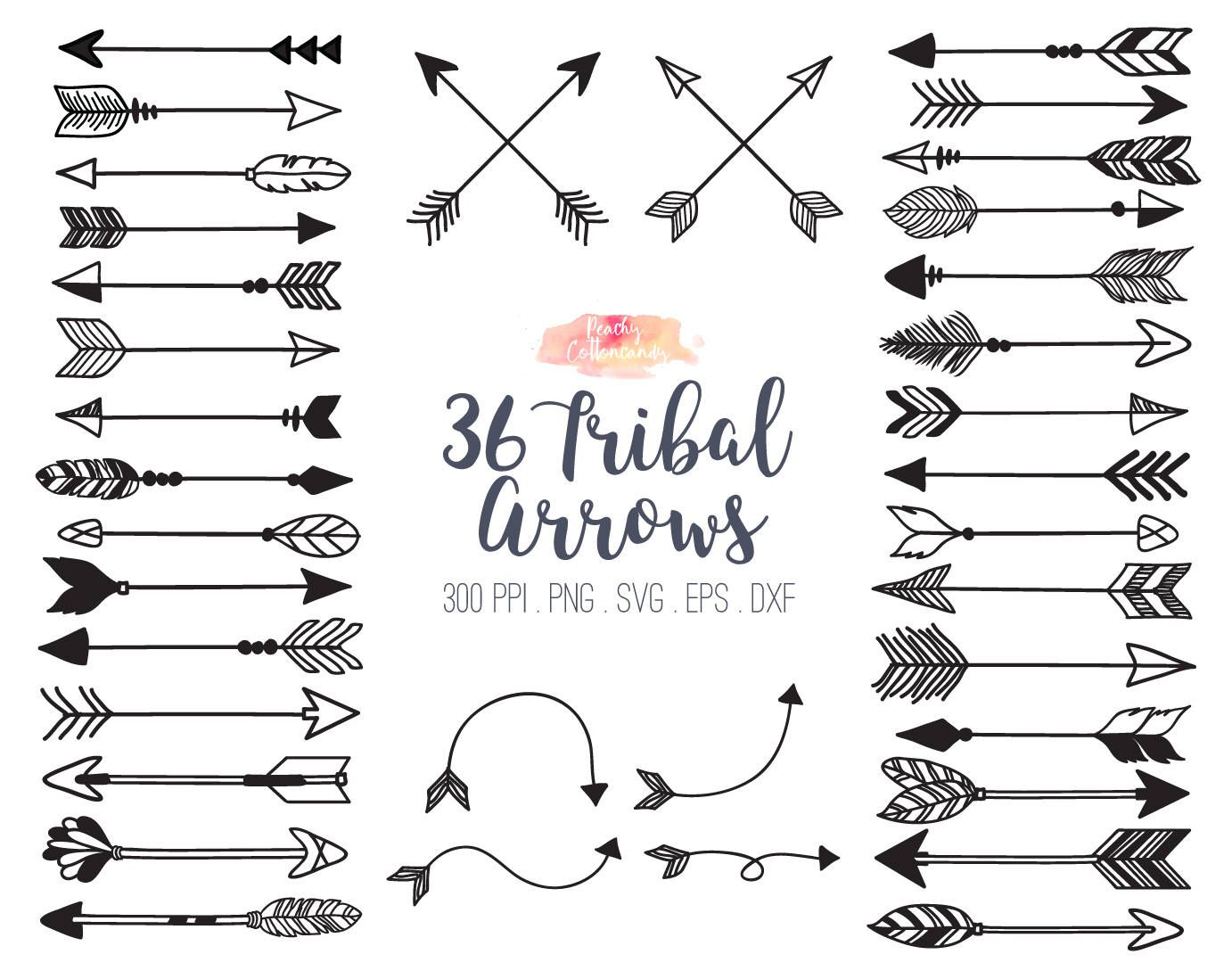 graphic freeuse Buy get tribal arrow. Clipart arrows free